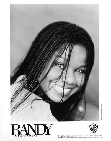 Randy Crawford Promo Print  : 8x10 RC Print