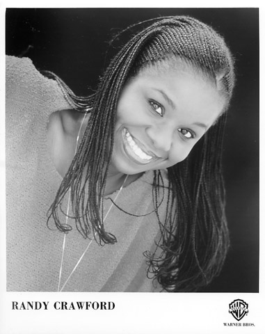 Randy Crawford Promo Print  : 8x10 RC Print