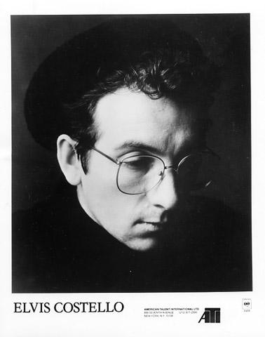Elvis Costello Promo Print  : 8x10 RC Print