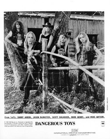 Dangerous Toys Promo Print  : 8x10 RC Print