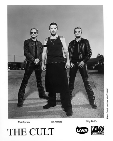 The Cult Promo Print  : 8x10 RC Print
