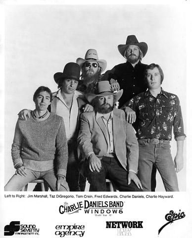 The Charlie Daniels Band Promo Print
