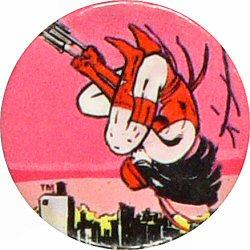 """Elektra Vintage Pin  : 1 1/2"""" x 1 1/2"""" Pin"""
