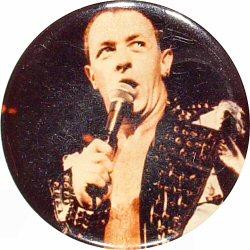 """Rob Halford Vintage Pin  : 2 1/2"""" x 2 1/2"""" Pin"""