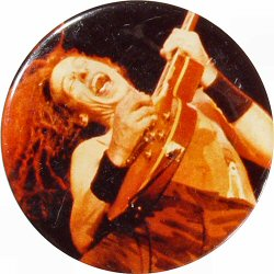 "Ted Nugent Vintage Pin  : 2 1/2"" x 2 1/2"" Pin"