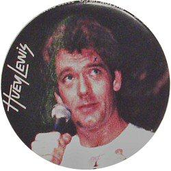 """Huey Lewis Vintage Pin  : 1 1/2"""" x 1 1/2"""" Pin"""