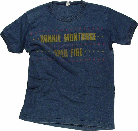 Ronnie Montrose Women's Vintage T-Shirt  : Medium