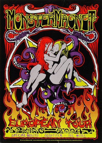 "Monster Magnet Poster  : 19 1/8"" x 26 3/4"""