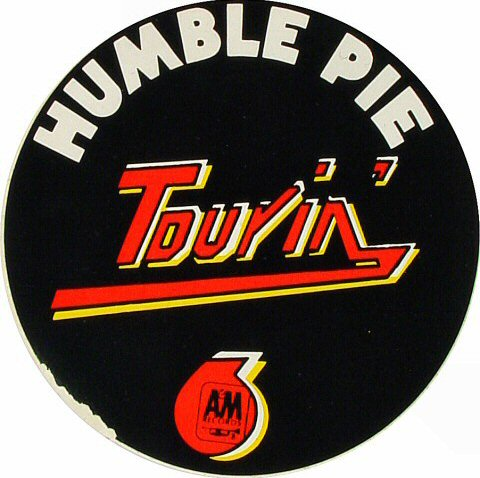 Humble Pie Sticker  : Promo Sticker