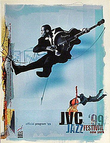 "Herbie Hancock Program  on 14 Jun 99: 8"" x 10 1/2"""