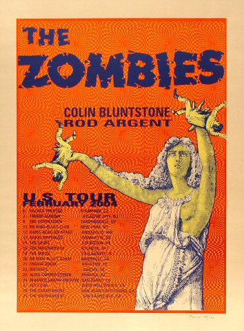 "The Zombies Poster  : 17 7/8"" x 24 1/8"""