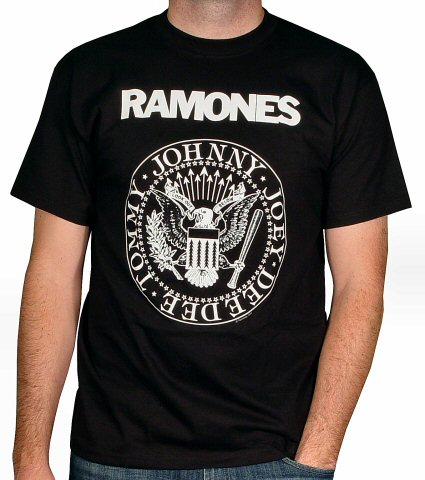 The Ramones Men's Retro T-Shirt  : X Large