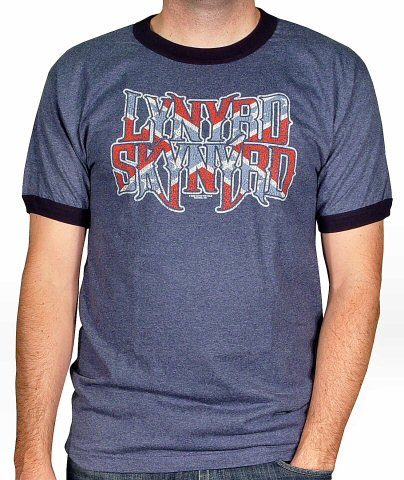 Lynyrd Skynyrd Men's Retro T-Shirt  : X Large