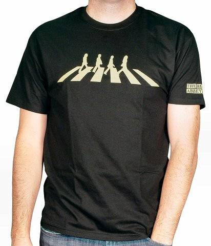 The Beatles Men's Retro T-Shirt  : X Large