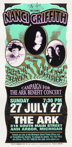 Nanci Griffith Handbill