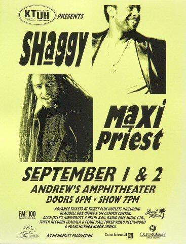 Shaggy Handbill