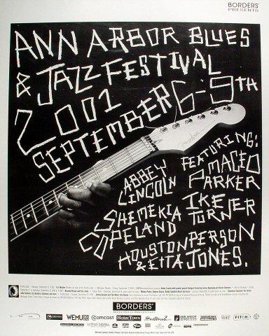 Ann Arbor Blues and Jazz Festival Poster