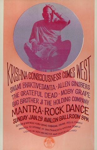 Swami Bhaktivedanta Poster