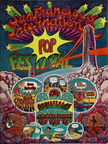 San Francisco International Pop Festival Poster