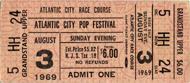Iron ButterflyVintage Ticket