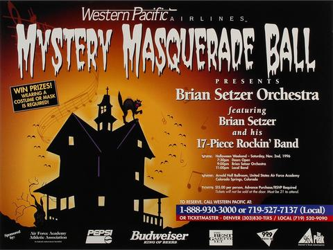 Brian Setzer OrchestraPoster
