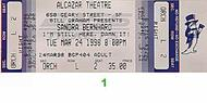 Sandra Bernhard 1990s Ticket