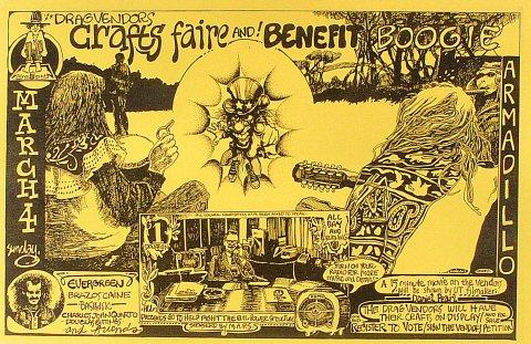 Drag Vendor's Crafts Faire and Benefit Boogie Poster