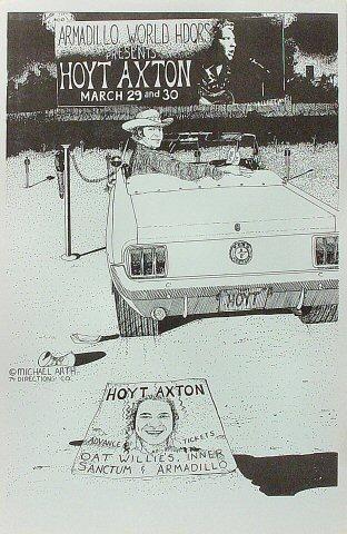 Hoyt Axton Poster