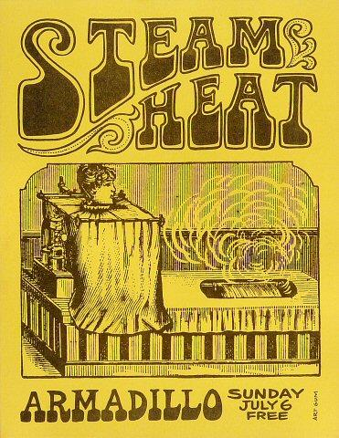 Steam Heat Handbill