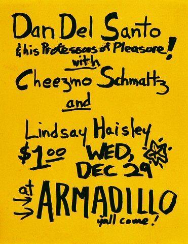 Dan Del Santo Handbill