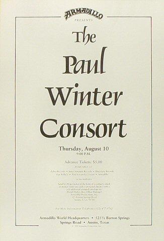 Paul Winter Consort Poster