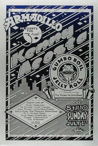 The Kenny Acosta Band Poster