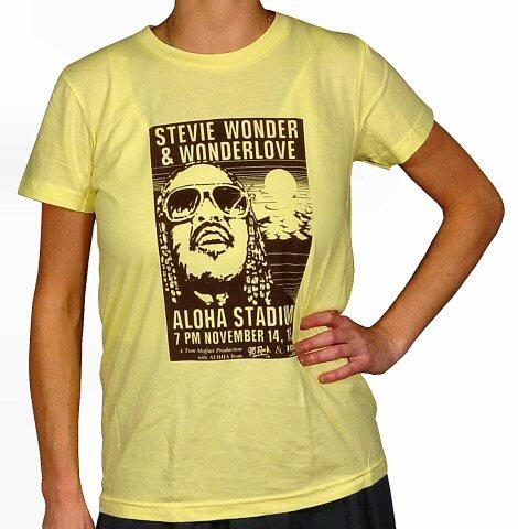 Stevie WonderWomen's Retro T-Shirt