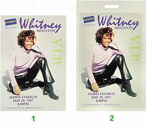 Whitney Houston Laminate