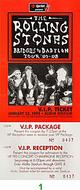 The Rolling Stones1990s Ticket