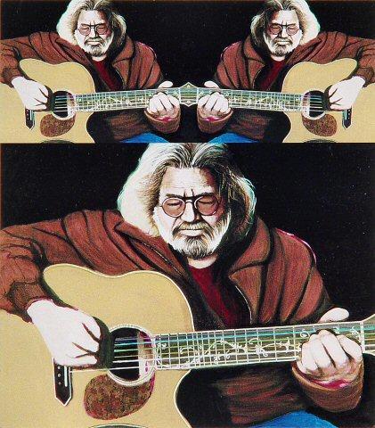 Jerry GarciaPostcard