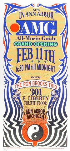 The Ron Brooks Trio Poster