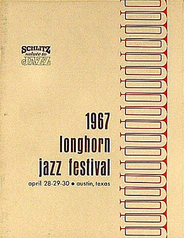 Longhorn Jazz Festival Program