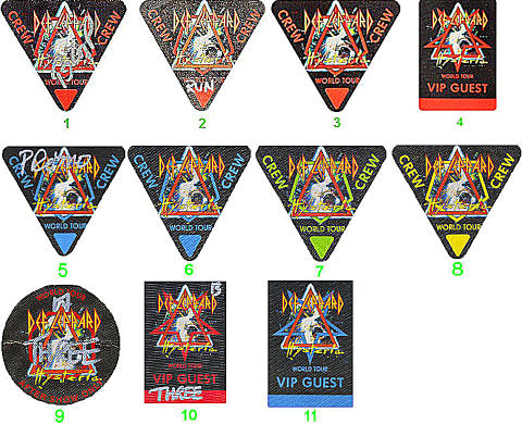 Def LeppardBackstage Pass