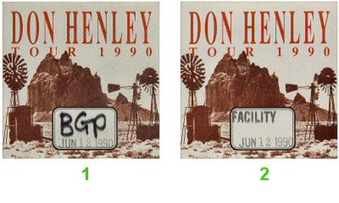 Don HenleyBackstage Pass