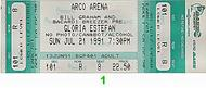 Gloria Estefan 1990s Ticket