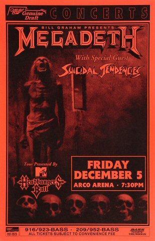 Megadeth Poster