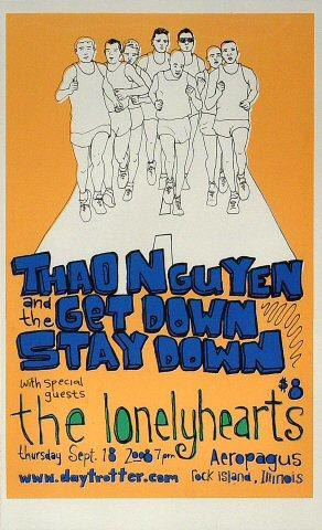 Thao & The Get Down Stay Down Poster