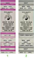 Hot Tuna 1990s Ticket