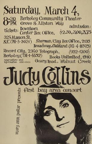 Judy CollinsPoster