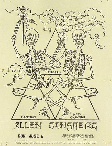 Allen GinsbergHandbill