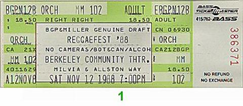 AswadVintage Ticket