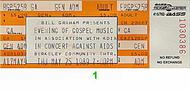 L.A. Mass Choir 1980s Ticket