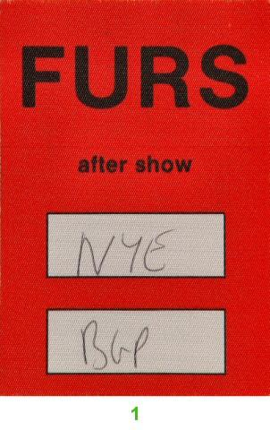 The Psychedelic FursBackstage Pass