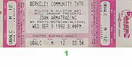 Joan Armatrading 1990s Ticket